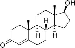 Testosterone-structure