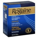 Rogaine, the first real hair loss treatment that worked.