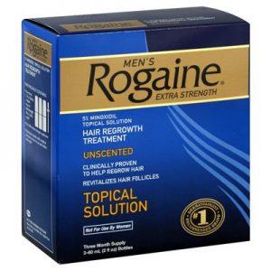 Rogaine hair loss