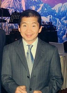 Dr. Jerry Wong In a Suit