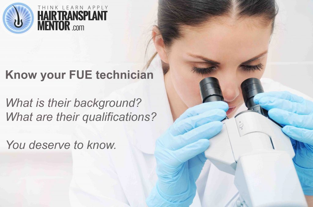hair transplant technicians