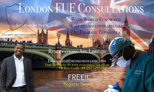 London Consultations With Dr. Lupanzula July 14, 2018